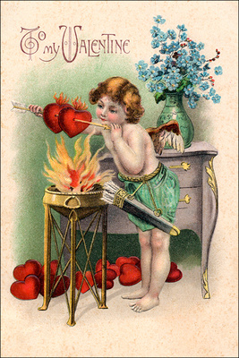 Vintage Valentine 1 card copy